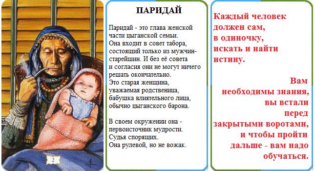 Поздравления и гадания от цыганки