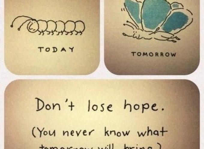 Не отчаивайся!