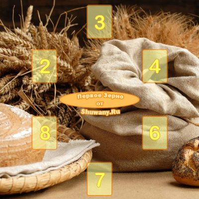 Расклад «Первое зерно»