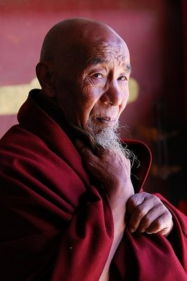 Народная мудрость: Притчи, пословицы, поговорки, присказки, приметы... Tibetan-monk