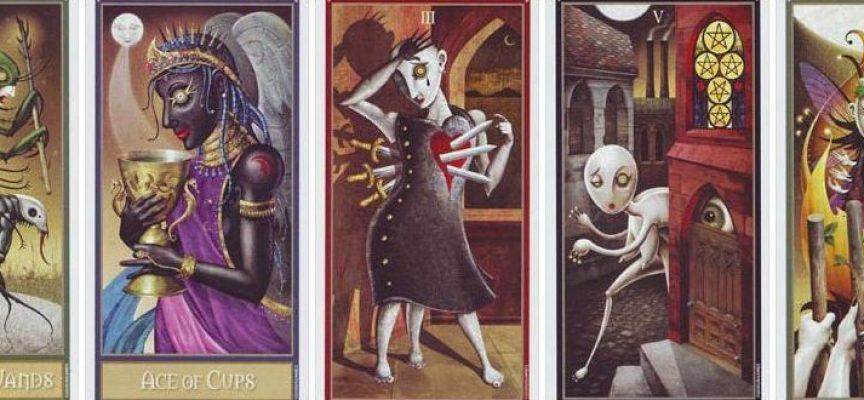 Девиант Мун Таро (Таро Безумной Луны) — Deviant Moon Tarot