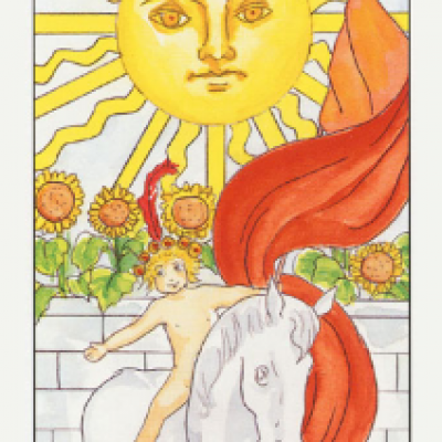 XIX Аркан Таро «Солнце»