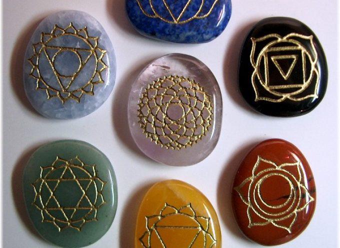 Воздействие камней на чакры
