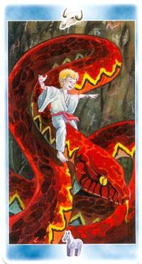 Рыцарь Костей. Помощник Огня. Друг на огненном змее