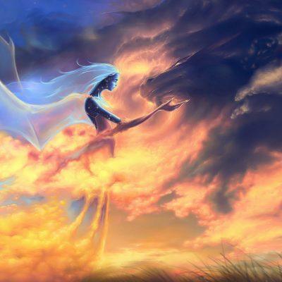 В пламени небес