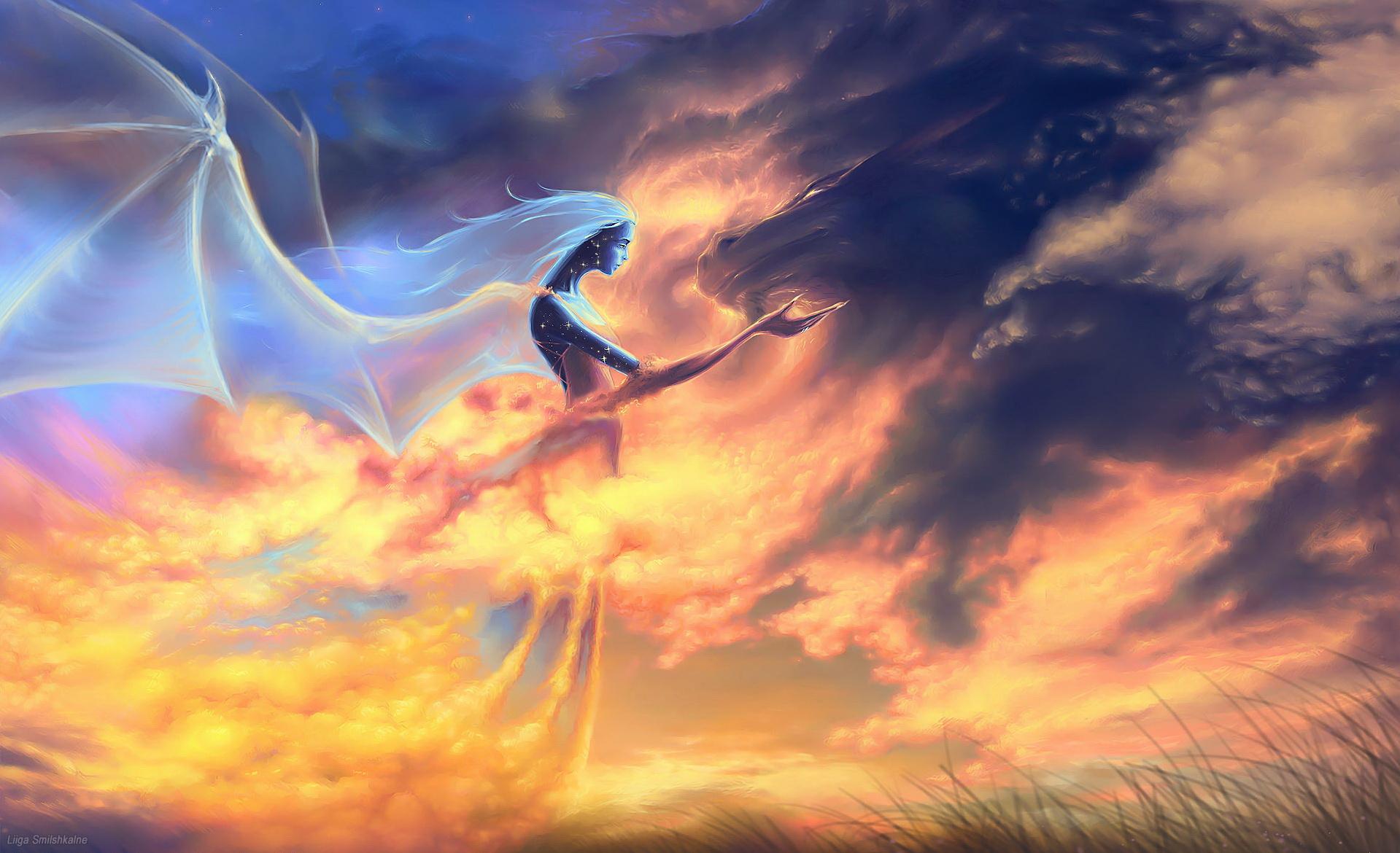 пламя небес