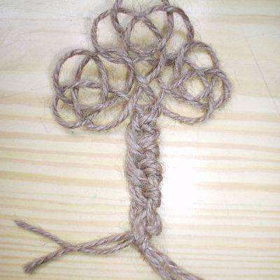 Узелковый талисман «Денежное дерево»