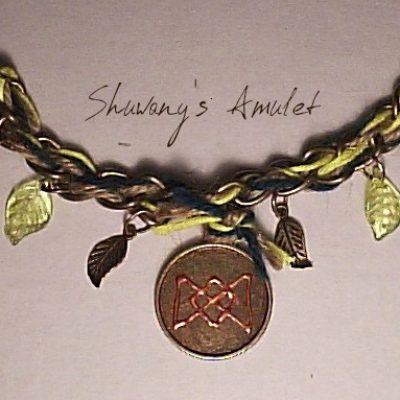 Амулет-браслет «Цветок удачи»