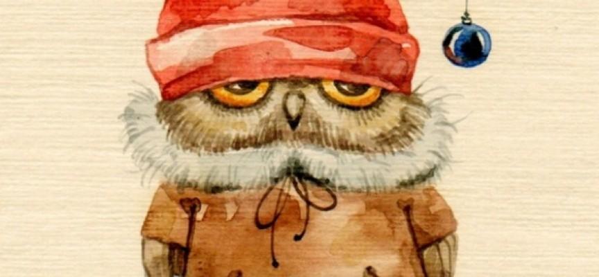 Любителям сов от художницы Инги Пальцер