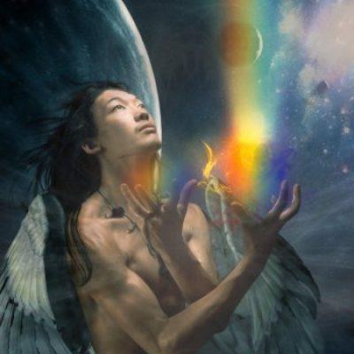 Медитация с цветами радуги
