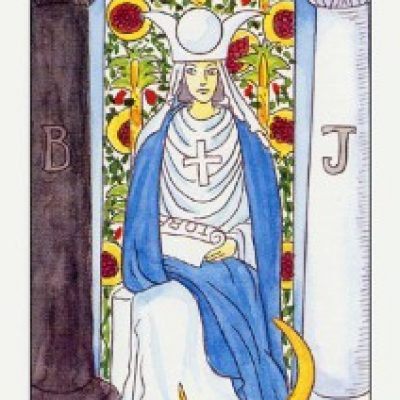 II Аркан Таро «Верховная жрица»