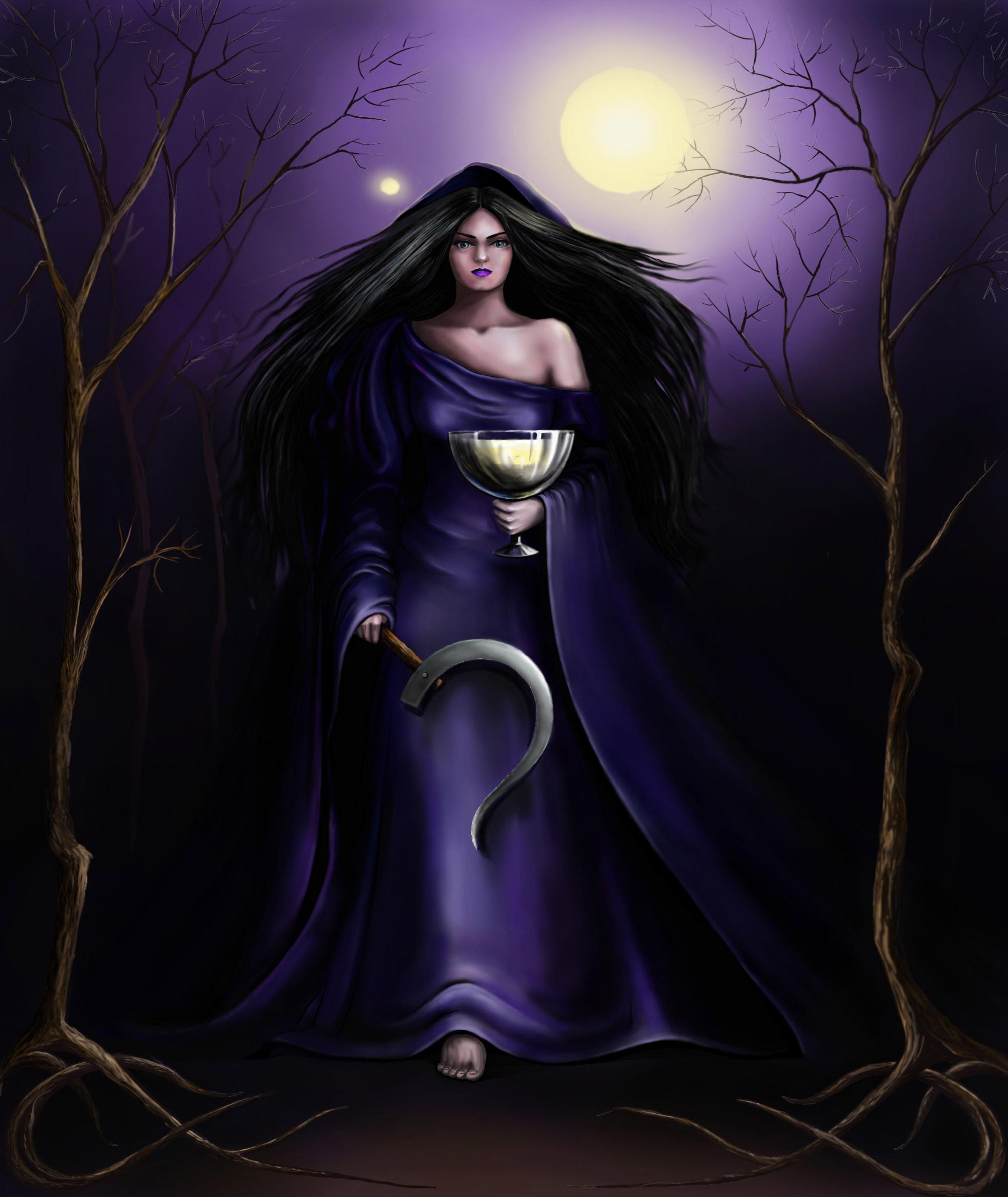 Мара (марена;- богиня смерти, болезней, холода, зимы, зла, ночи, тьмы, черног
