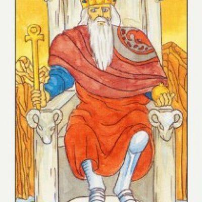 IV Аркан Таро «Император»
