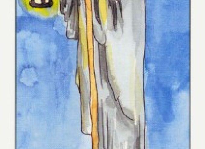 IX Аркан Таро «Отшельник»