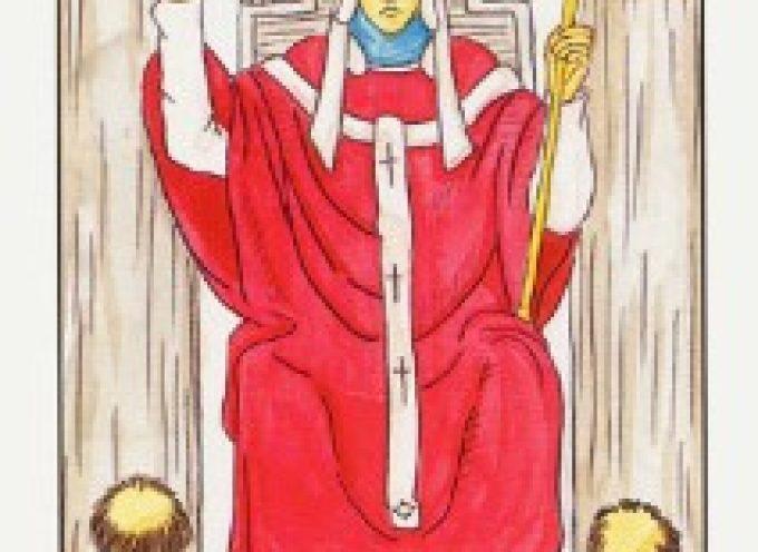 V Аркан Таро «Верховный жрец»