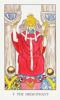 Аркан таро Верховный Жрец (Иерофант), значение карты, внутренний смысл