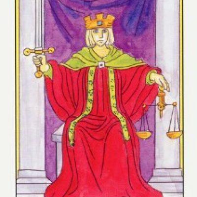 VIII Аркан Таро «Справедливость»