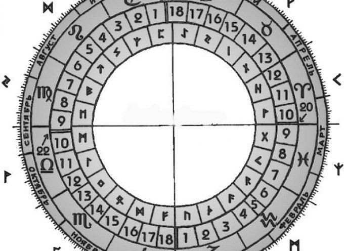 Календарь друидов и руны