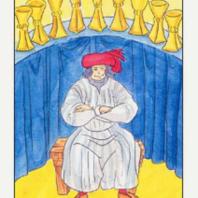 Аркан Таро IX Кубков
