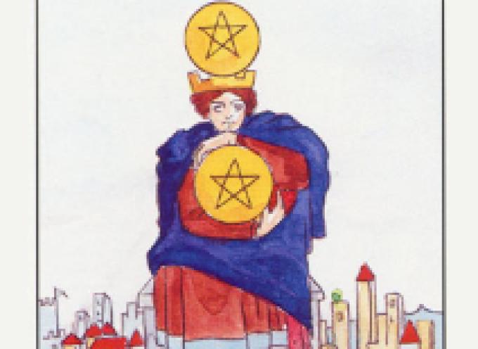 Аркан Таро IV Пентаклей