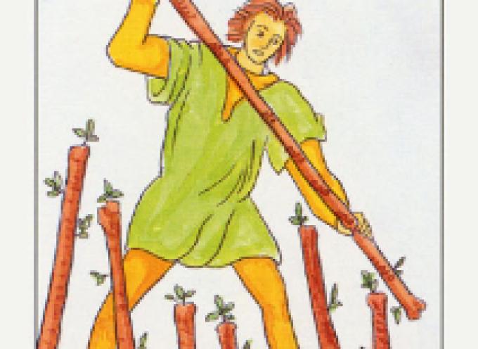 Аркан Таро VII Жезлов