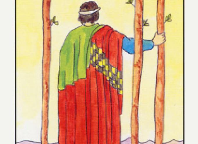 Аркан Таро III Жезлов