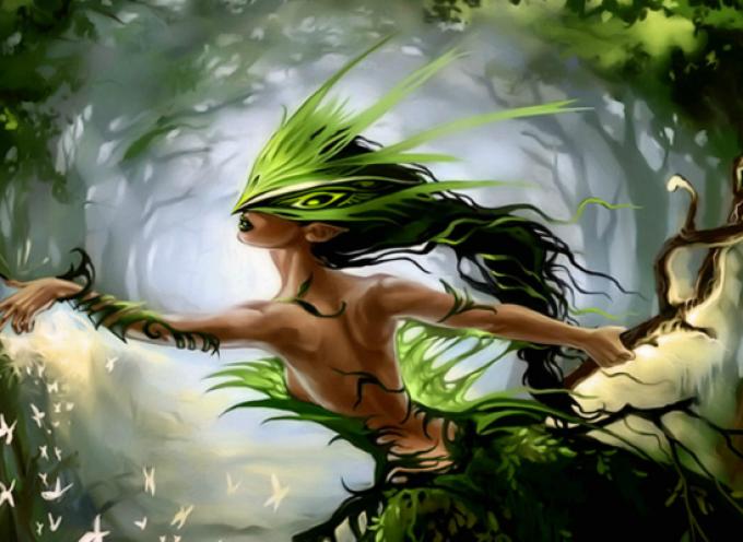 Духи природы: этикет общения