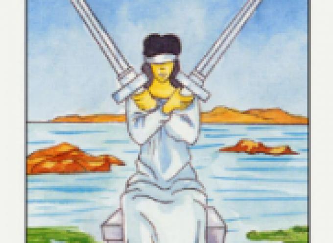 Аркан Таро II Мечей