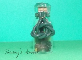Ведьмина бутылка на балансировку энергий и придание сил «Энергии жизни»