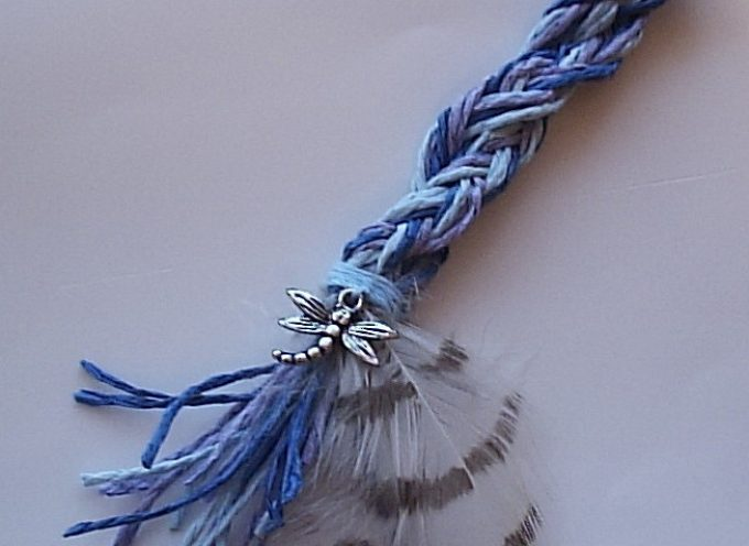 Шаманская косица «Дух стрекозы»