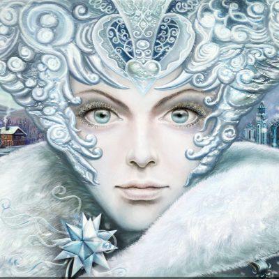Гадание «Знак от Снежной королевы»