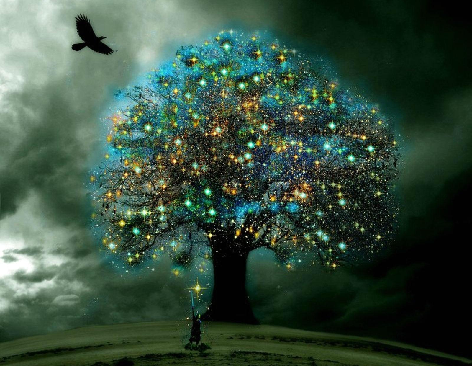 расстраивайся волшебное дерево картинки стоит