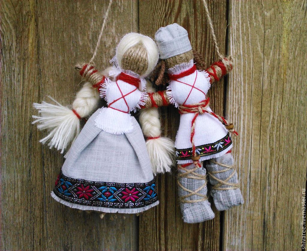 Древние русские куклы своими руками 7