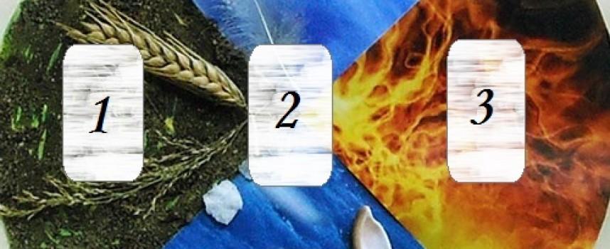 Рунический расклад «Крест стихий»
