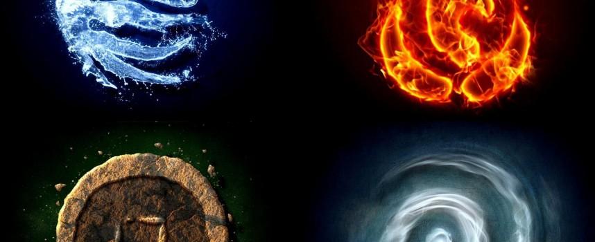 Взаимосвязь стихий и основных черт характера человека