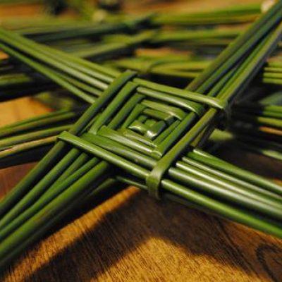 Крест Бригитты — символ Имболка