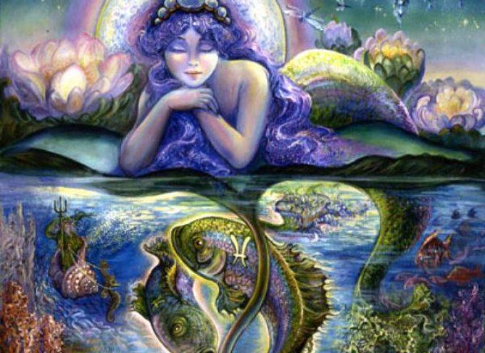 Полнолуние 22 февраля: дева+рыбы=русалка