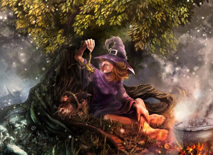 Про преемственность заклинаний и народные названия растений в магии