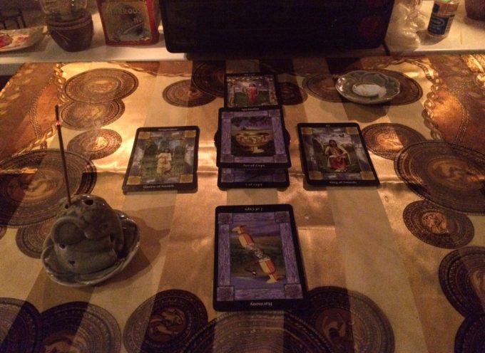 Магия Таро в действии. Любовный ритуал на воссоединение