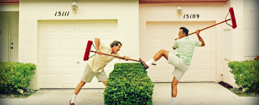 Соседи как избавиться магия