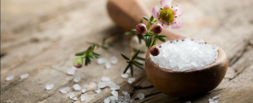 Волшебный соляной скраб