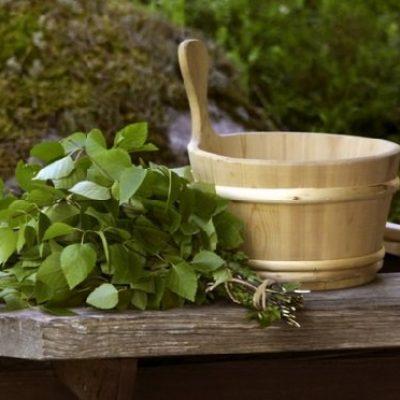 Растения для бани — веники, настои, отвары