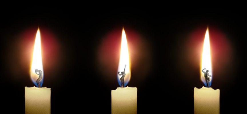 О чём говорит пламя свечи