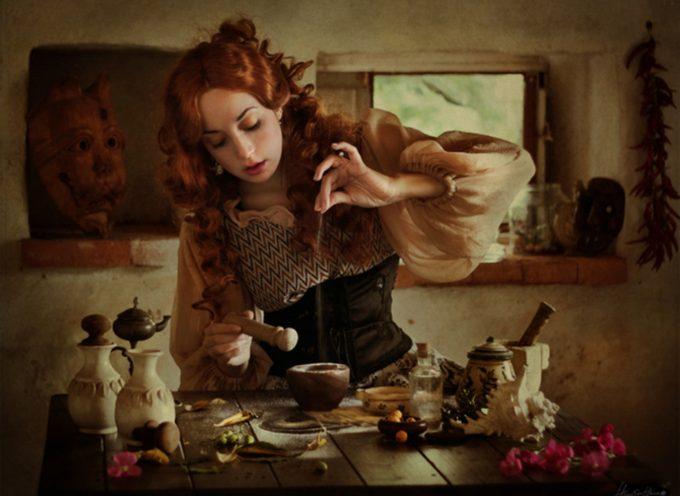 Ступка в кухонной магии