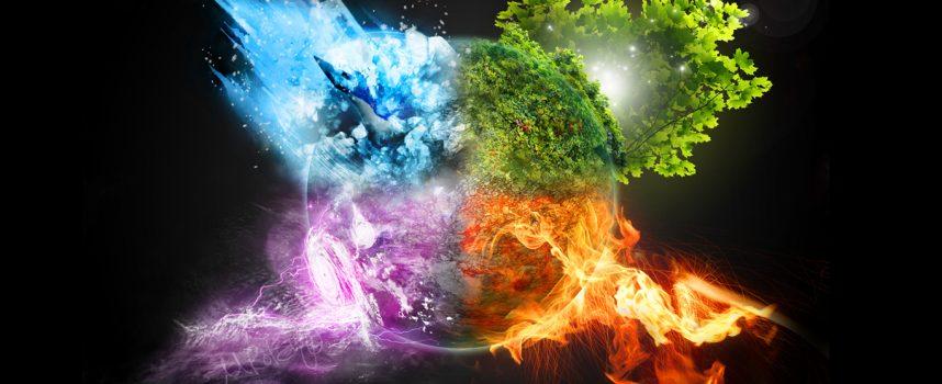 Использование четырех природных стихий
