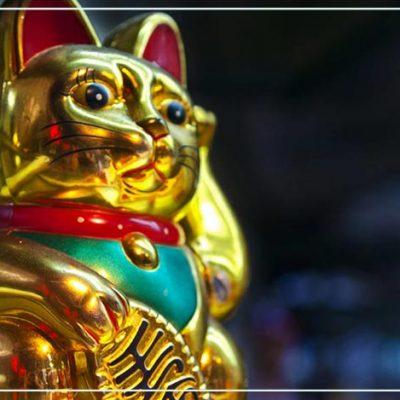 Манеки Неко — денежная кошка