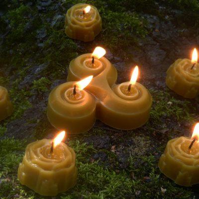 Как изготовить свечи для магических ритуалов