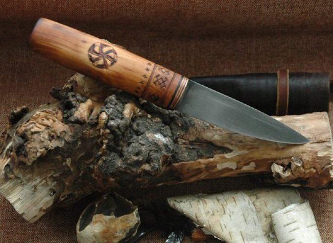 Нож в славянских традициях и обрядах