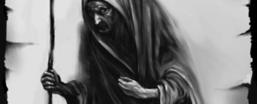 Виеристя — святочная старуха