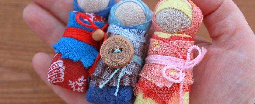 Кукла Пеленашка — оберег для новорождённого